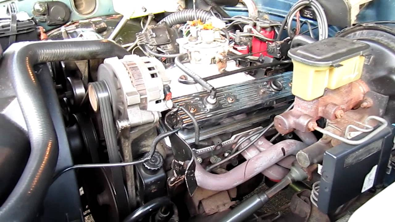 tbi 350 gmc sierra 90