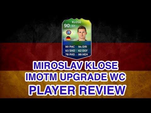 FUT 14 World Cup Record Breaker iMOTM Miroslav Klose Upgrade Player Review FIFA 14 iMOTM Klose