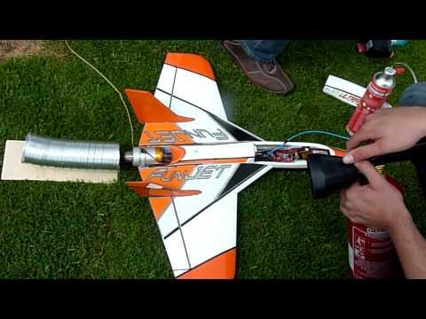 Fun Jet mit Kolibri Turbine / Jet