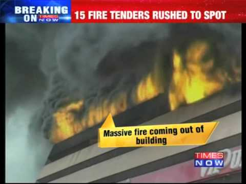 Major fire at Surat's textile market