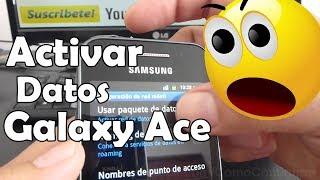Como Activar Paquete De Datos Prepago En Samsung Galaxy