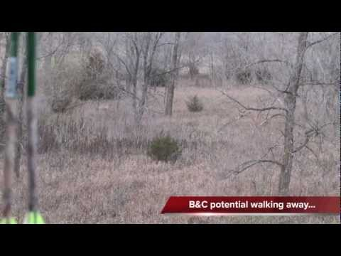 Rut 2012 Iowa true MONSTER white tail deer hunting Nov2