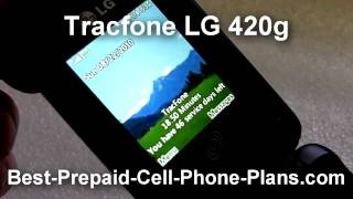 The LG 420g Is A Sleek Addition To The Tracfone Lineup