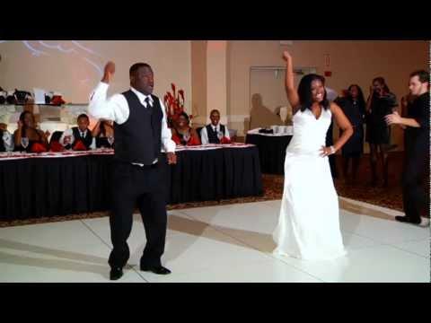 爸爸、女兒跳開場舞