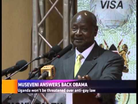 MUSEVENI ANSWERS BACK OBAMA
