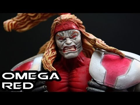 Marvel Legends OMEGA RED Figure Review