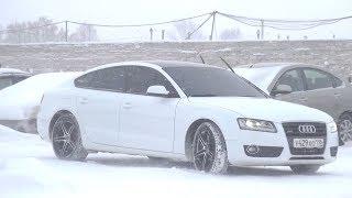 Бодрая Ауди!!! 2009 Audi A5 Sportback 2.0TFSI Quattro. Обзор.. MegaRetr
