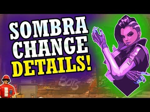 NEW Sombra Change Details! + Major Content Update SOON! (Hero 28 & More) (Overwatch News)