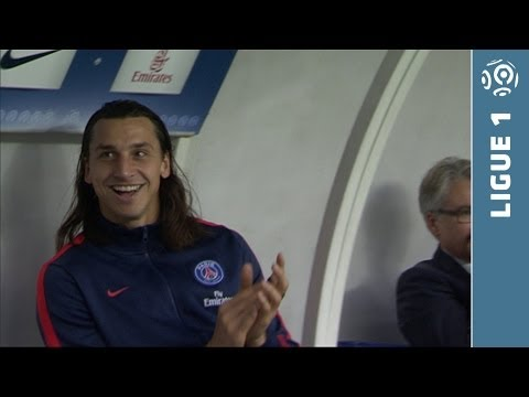 Ibrahimovic and Cavani's fantastic goals - PSG - Bastia -2013/2014
