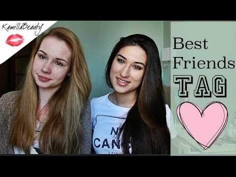 BEST FRIENDS TAG + Bloopers KamillaBeauty