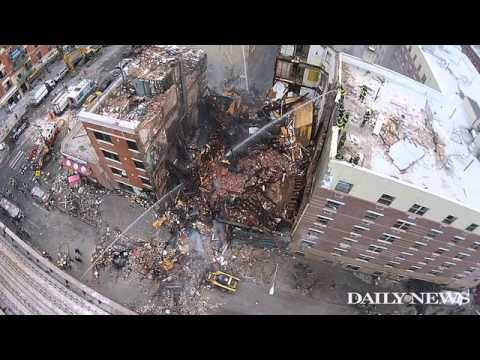 Tests detect gas underground after NYC blast