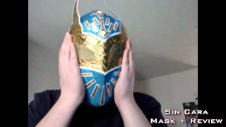 Sin Cara Mask Review WWE Shop