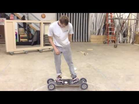 Assembled dirtboard 2013 version