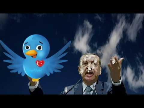 Karikatür: Twitter ve Youtube Başçalan Erdoğan´dan nasıl intikam aldı! Twıtter ve Youtube yasağı!