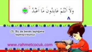 Çocuklarla Kur'an Talimi - Kafirun Suresi