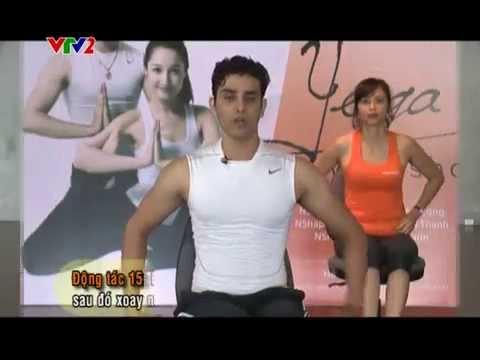 Thể dục buổi sáng VTV2 - Yoga cho người làm việc văn phòng