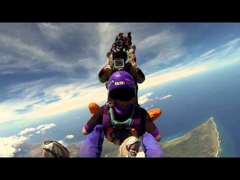 Skydiving in Paradise -  June 2013 - GoPro3 Black Edition