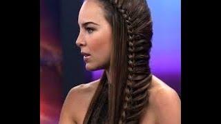 Tutorial Trança/Trenza/Braid De Belinda Camaleones