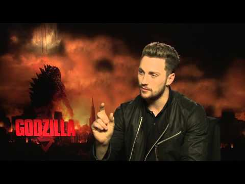 Aaron Taylor-Johnson Interview -- Godzilla