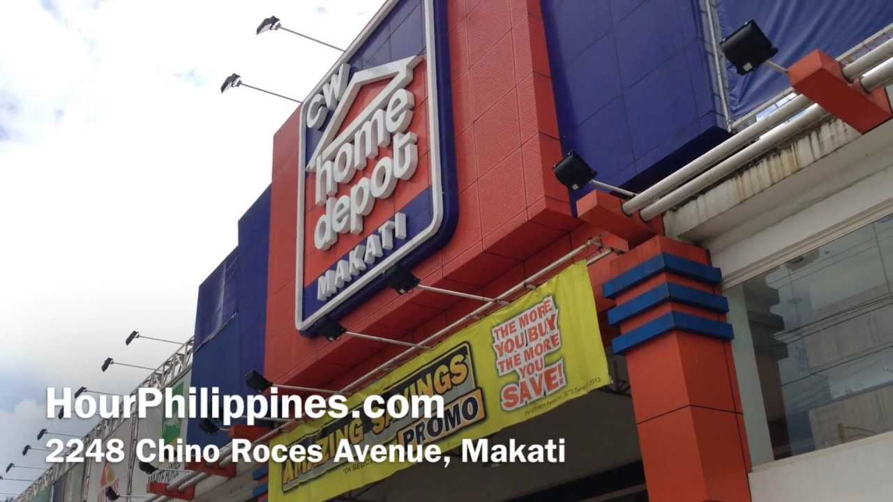 Cw home depot makati chino roces avenue by youtube Cw home depot furnitures