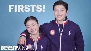 Maia and Alex Shibutani, Ice Dancing Siblings, Talk Firsts   Teen Vogue