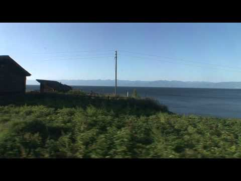 Looking out of Train window @ LAKE BAIKAL - Siberia - I