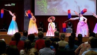 Pécsett járt a dél-koreai Dankook Egyetem tánckara