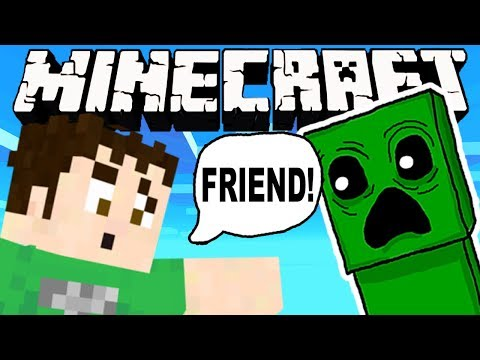 MINECRAFT  - FRIENDLY CREEPERS! Nostalgia Overload