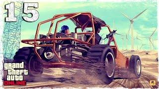 [PS4 COOP] GTA ONLINE. #15: Ограбление: угоняем тюремный автобус.
