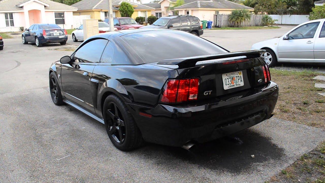 2004 Mustang GT Mac Long Tube Headers - YouTube