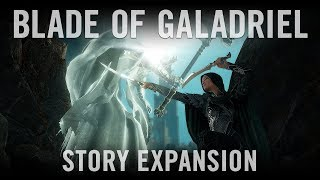 Shadow of War - Blade of Galadriel Sztori Kiegészítés Trailer