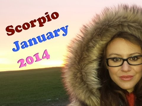 SCORPIO JANUARY 2014 with astrolada.com