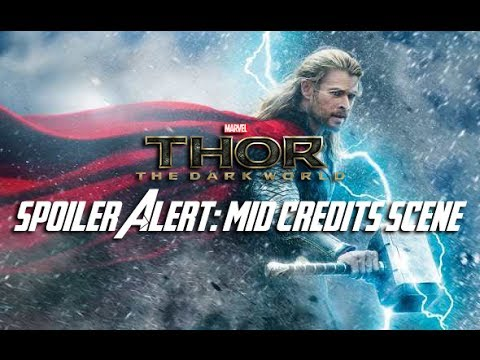 Thor The Dark World Mid Credits Scene