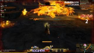 Fire Elemental Boss   Guild Wars 2   Cranky Old Men   Legion view on youtube.com tube online.