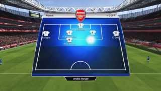 FIFA 14: Gameplay / Match #3 Arsenal Vs. Chelsea FC
