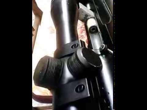 súng hơi tự chế - dùng để diệt chuột,ốc bưu vàng..
