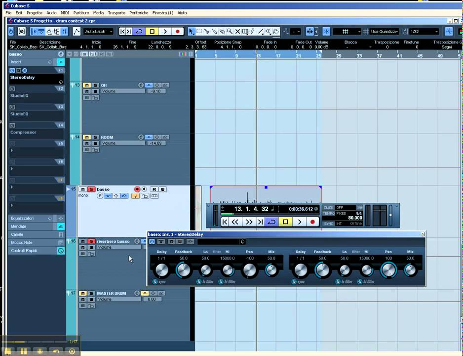 cubase 5 manuale italiano download. Black Bedroom Furniture Sets. Home Design Ideas