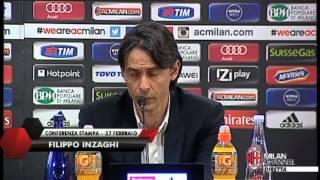 "Inzaghi: ""Non esiste nessun caso Cerci"" | AC Milan Official"