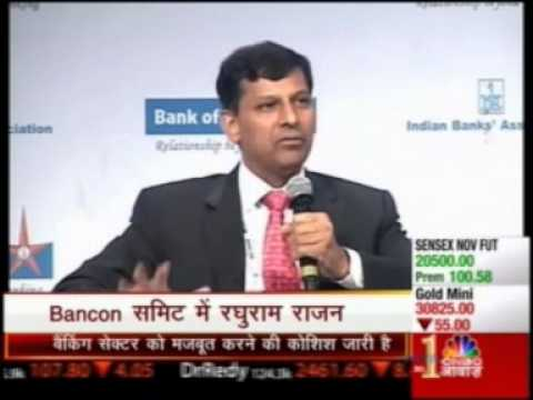 Address by Dr. Raghuram Rajan, Governor, RBI at BANCON 2013 Part 1
