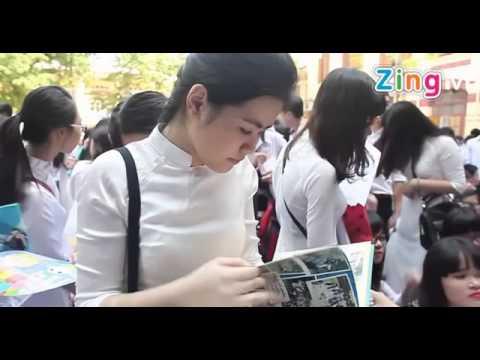 Lễ Bế Giảng Ý Nghĩa Cuối Năm Trường THPT Trần Phú Hà Nội 2014