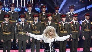 Теона Дольникова (Один в Один) - Младший лейтенант (Ирина Аллегрова)