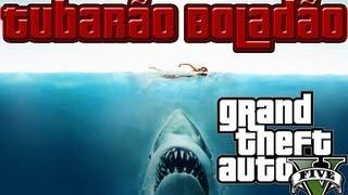 """GTA 5 Ataque Do Tubarão """"GTA V"""""""