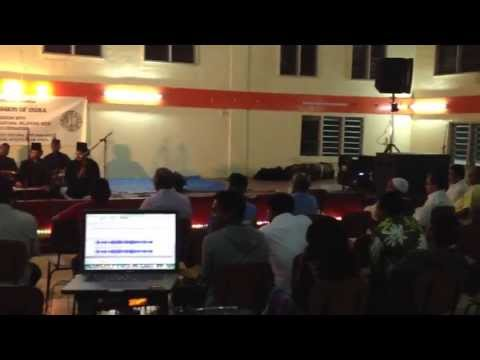 Pacific Sound Fiji providing Sound for the Qawali Group from India in Nausori
