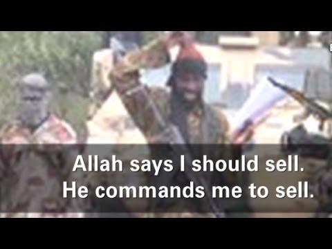 Boko Haram leader: Allah says to sell girls