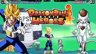 Goku & Gohan Vs Kuriza & Frieza DragonBall Heroes M.U.G.E