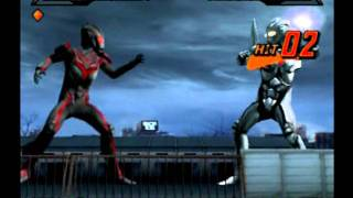 Ultraman Nexus Game Fight Colections.