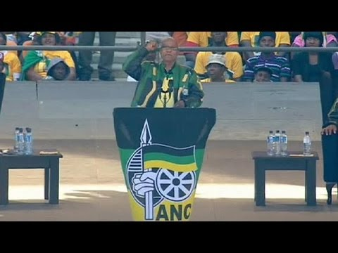 South Africa: ANC holds confident final rally ahead of May 7 election