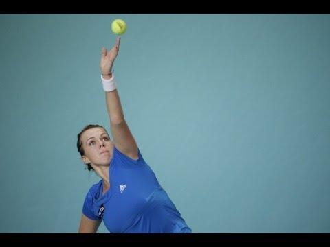 2014 Open GDF SUEZ Quarterfinal WTA Highlights