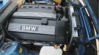 Красивый ролик BMW 330i E30 кабриолет с двигателем M54B30
