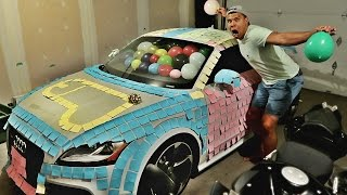 ULTIMATE REVENGE CAR PRANK ON DAD!!